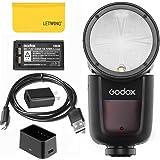 【正規品&技適マーク】Godox V1-F ストロボ フラッシュ TTLオンカメララウンドカメラフラッシュ スピードライト対応富士カメラ用