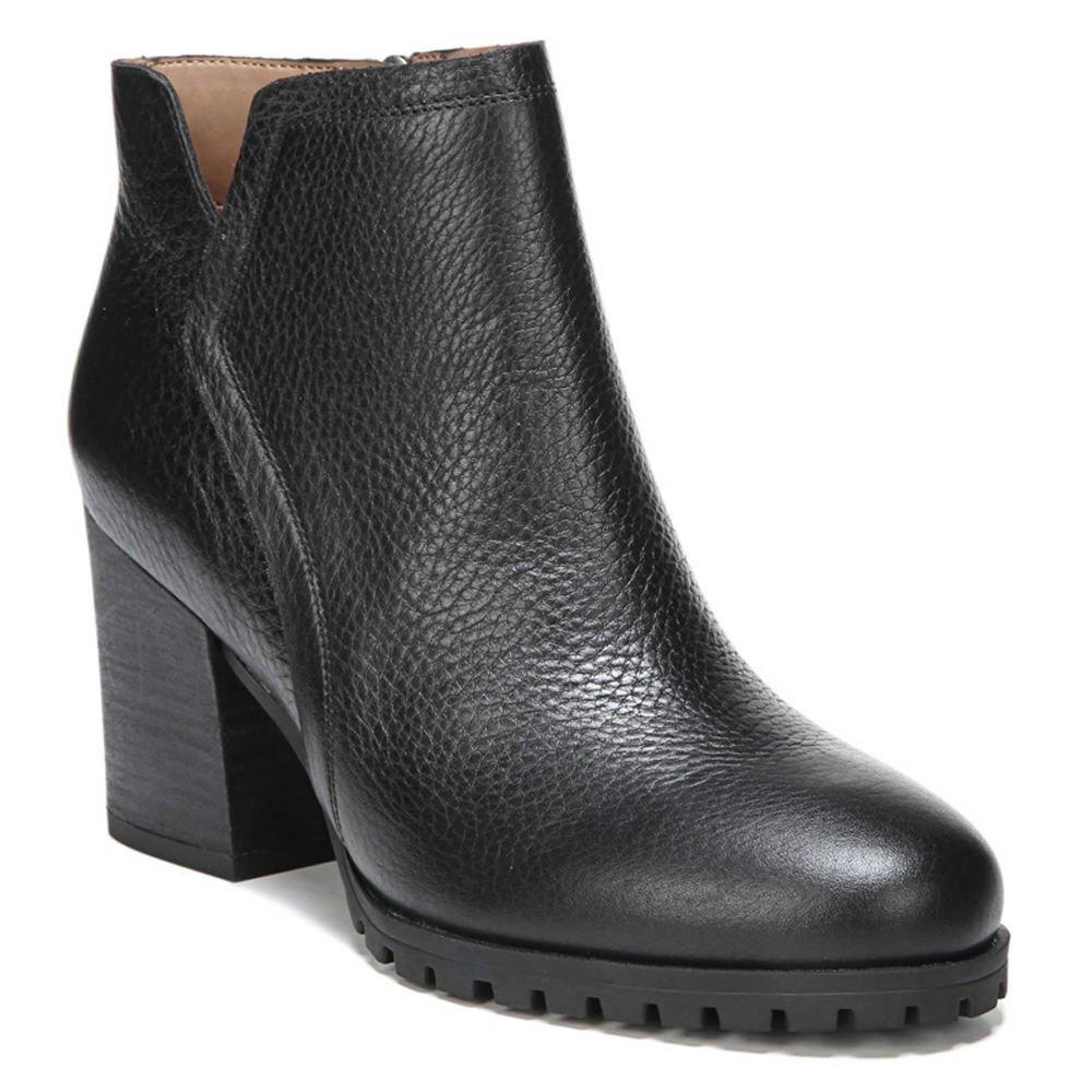 Franco Sarto Womens Maysen B074R937RK 8 B(M) US|Black Tumbled Leather