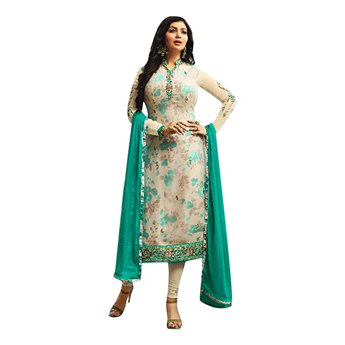 Nueva India Pakistani Straight Salwar Kamiz Kameez Traje ...