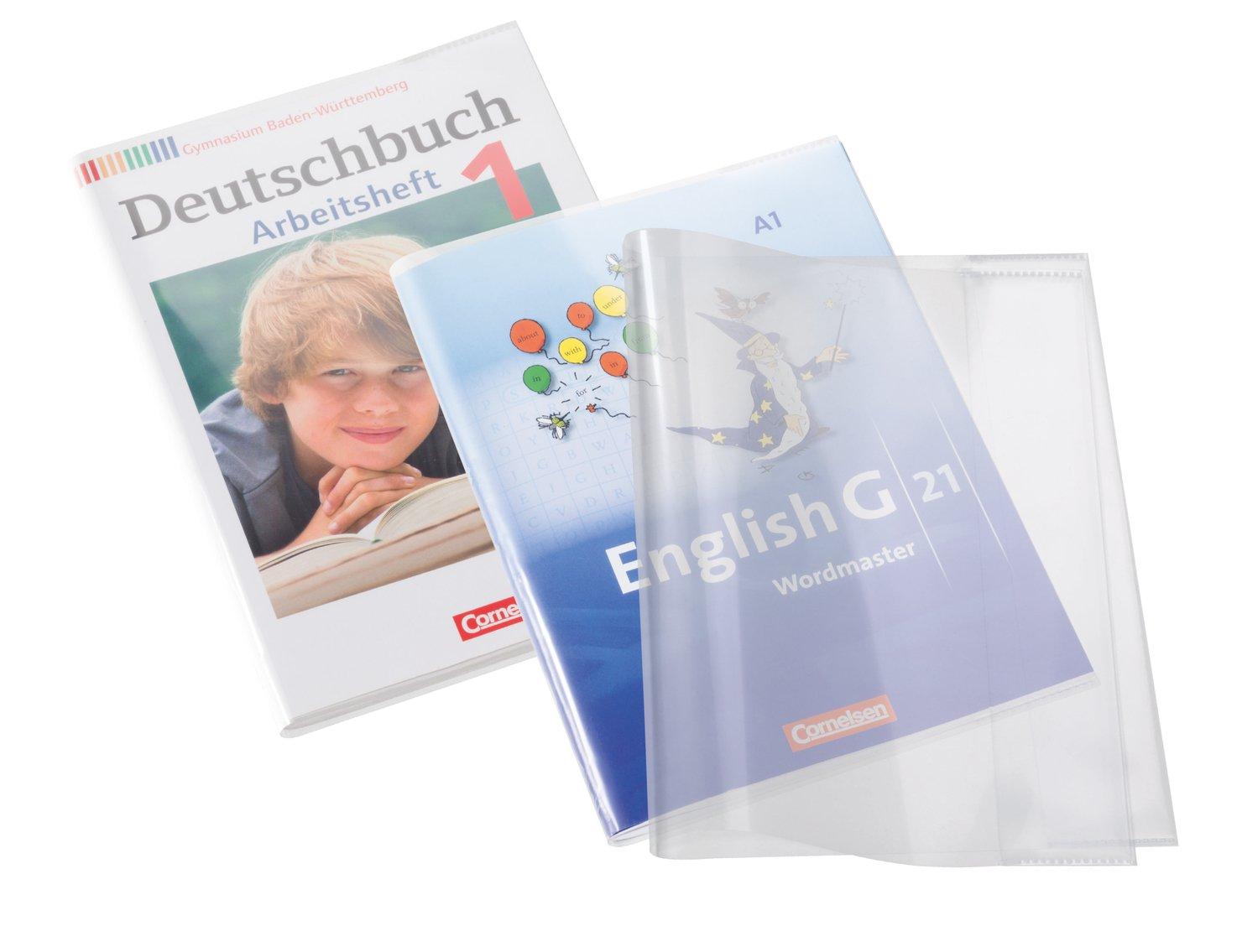 herma 14040 cuaderno de plástico transparente para work books