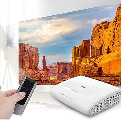 Qinlorgo Proyector 4K, 110-240V HD 1920 * 1080 LED Proyector ...