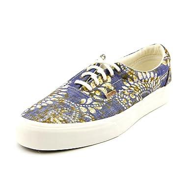 070c28dae1ddbf Vans Unisex Era CA Batik Indigo Sneakers Blue M11 W12.5