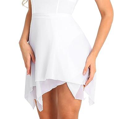 iixpin Falda de Abrigo para Mujer Falda de Danza Ballet Falda ...