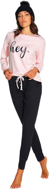 Pigiama Donna Cotone Lungo 100/% Nacshua/® Estivo Manica Lunga Gamba Lunga Nuova Collezione Primavera ed Estate Intimo per Casa Maniche Lunghe