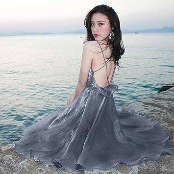 Plage Li D'été Xiang Shop Jupe Station De Balnéaire Dress La Shi KTl3JcF1