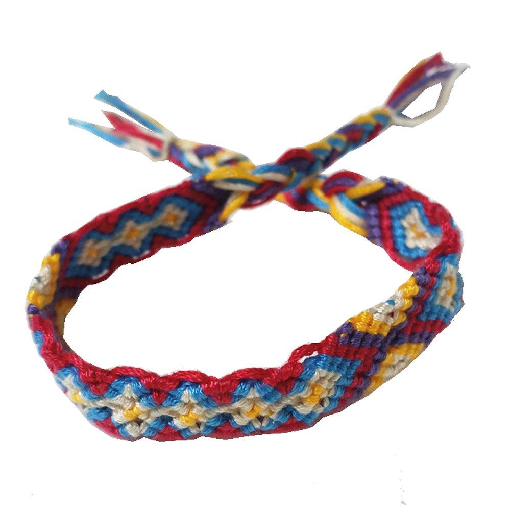 Rimobul Nepal Woven Friendship Bracelets - 8 pack by Rimobul (Image #7)
