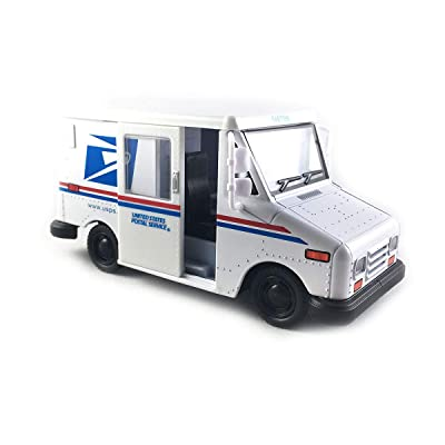 "KinsFun New DIECAST Toys CAR 1:36 Display 5"" USPS LLV 1 Item Without Retail Box KT5112D, Multi: Toys & Games"