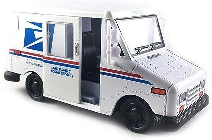 12 pack USPS LLV Postal Delivery Mail Van Diecast Truck 1:36 Kinsmart 5 inch