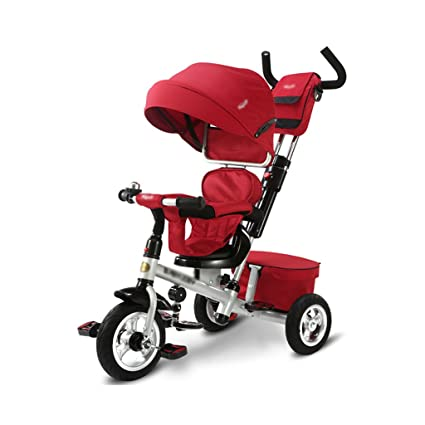 Amazon.com : Gai Hua Home Stroller Toys Childrens tricycle 1-3-5 ...