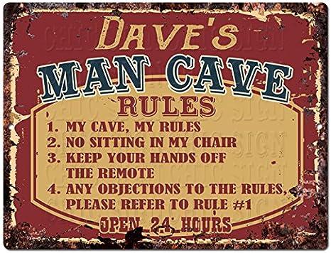 SLND0767 LEBLANC MAN CAVE Street Chic Rustic TIN Sign man cave Decor Gift