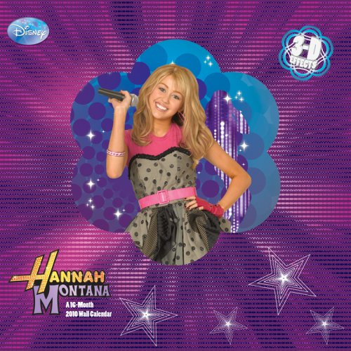 Hannah Montana 3D 2010 Wall Calendar