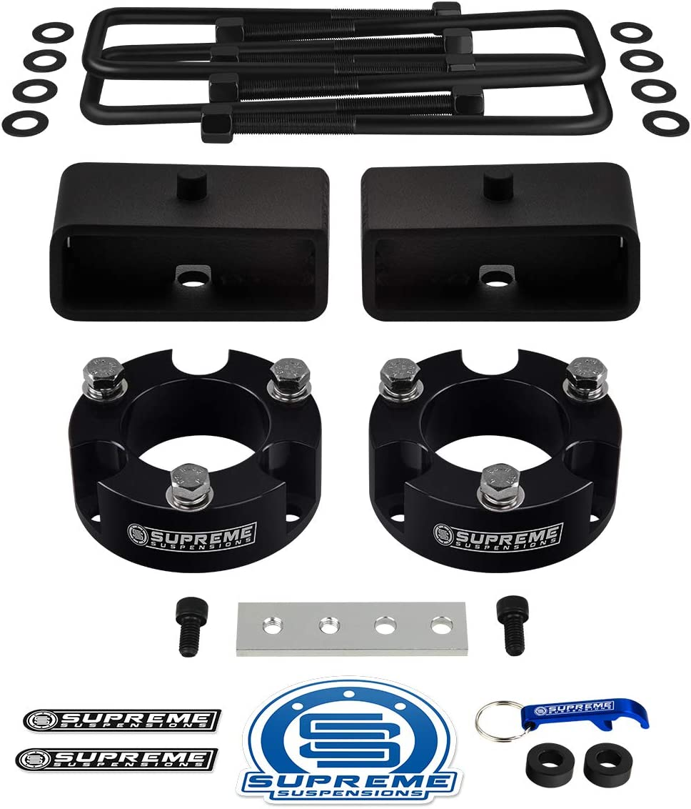 """3/"""" Inches Rear Black Billet Lift Kit For 1995-2004 Toyota Tacoma"""