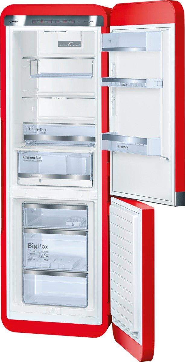 Bosch KCE40AR40 congeladora - Frigorífico (Independiente, Rojo ...