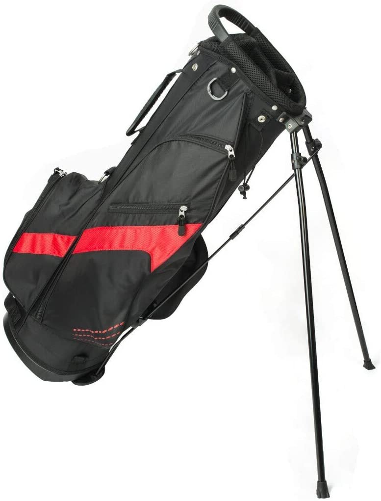 our X SS Golf Stand Bag, Ultralight with Backpack Style Dual Shoulder Straps