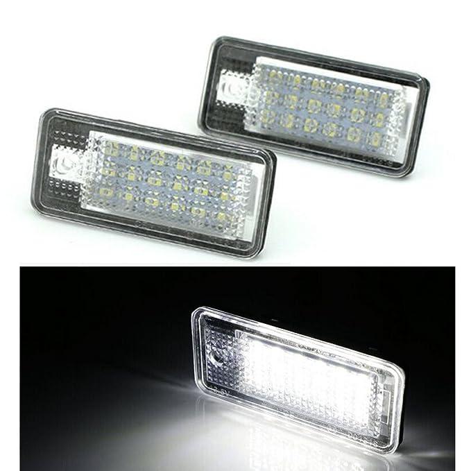Iluminación LED para matrícula no tiene que pasar la ITV): Amazon.es: Coche y moto