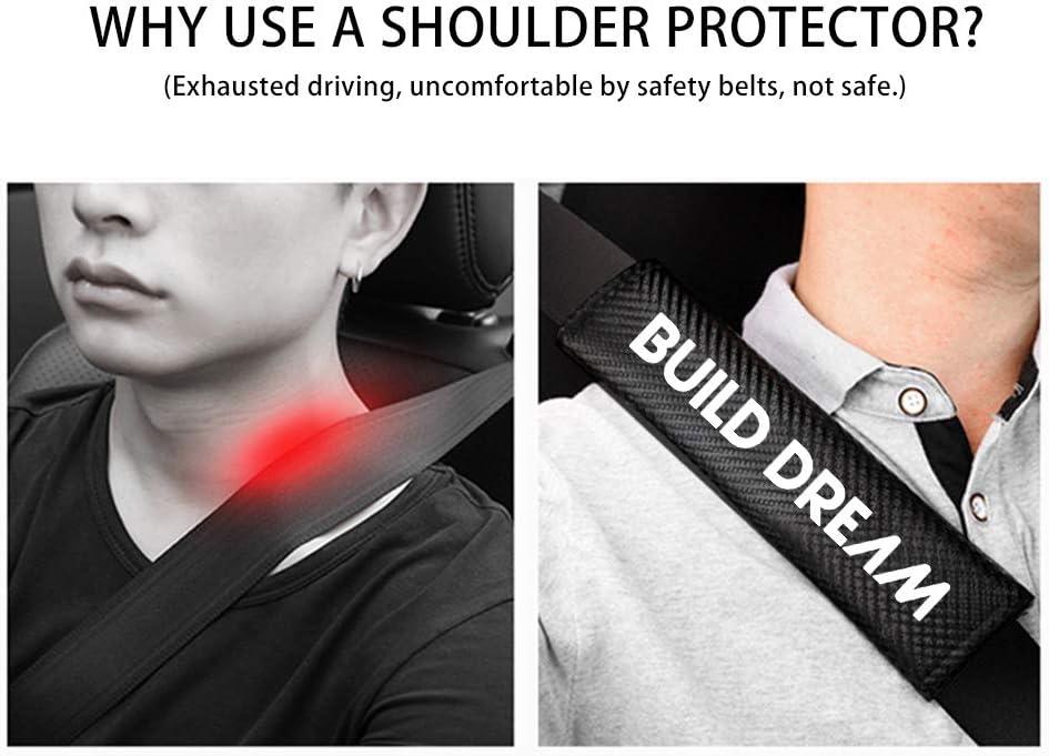 8X-SPEED per Qashqai Guaine per Cintura di Sicurezza,Imbottiture Cintura Accogliente Morbido Non-scivoler/à 2 Pezzi Blu