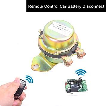 Amazoncom Car Wireless Remote Control Battery Switch Disconnect
