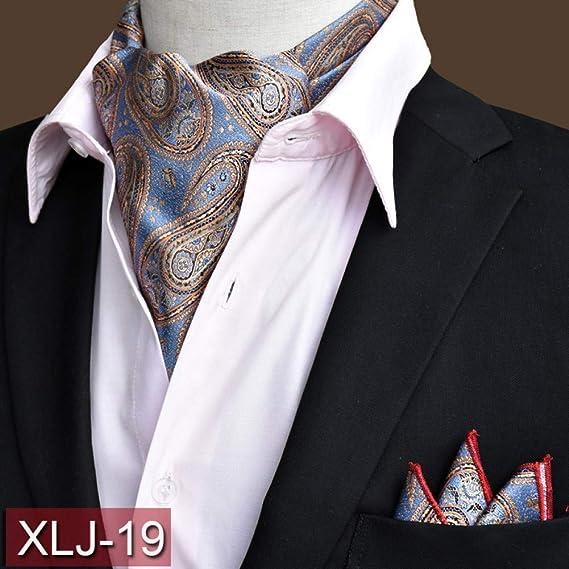 MU Leisure Men S Tie Ljt01 20 colores Men S Floral Paisley ...