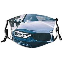 Gezicht Guard Mondbescherming B-M-W M Sports Car Series Power Logo (3) Unisex wasbaar en herbruikbare Balaclava…
