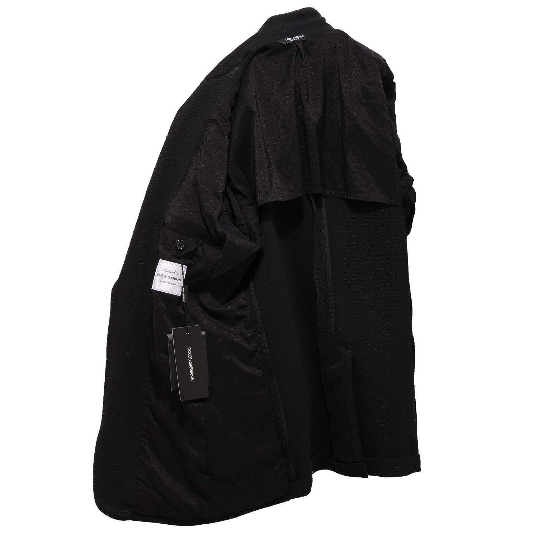 Dolce & Gabbana 7212X Giacca uomo Black Jacket Cotton Man [48]: Amazon.es: Ropa y accesorios