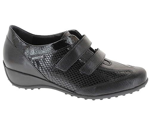 Color Mujer Negro Cómodos Con Leda Zapatos Mephisto Para Muy afzwZ5