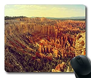 Design Bryce Canyon Utah Mouse Pad Desktop Laptop Mousepads Comfortable Office Mouse Pad Mat Cute Gaming Mouse Pad by runtopwell