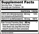 Premium Brain Supplement Nootropic Clinically Formulated for Better Memory Boost Focus amp Energy All-Natural Organic 100 Guaranteed Proprietary Formula Using Therapeutic Dosages Discount