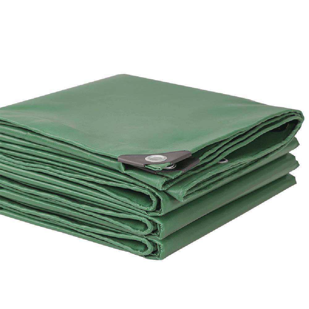 3x5m DGLIYJ-BÂches Imperméable Robuste Polyéthylène De Haute Densité   Toile Imperméable   Pliant   Tente pour équipeHommest De Plein Air 350g (Taille   3x3m)