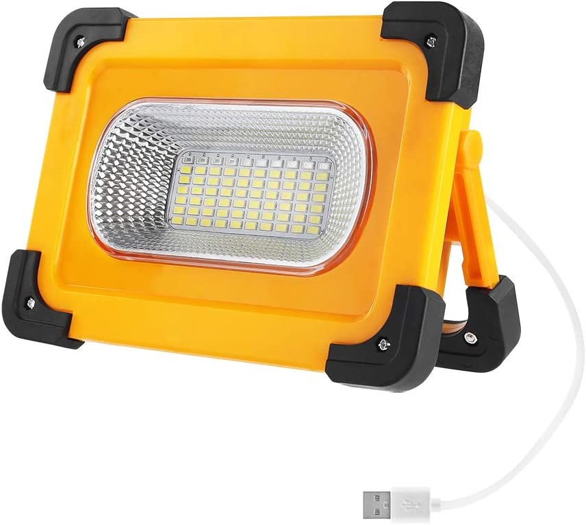 Flood USB Rechargeable Light Work Lamp Solar Camping Light Emergency Flood Lamp