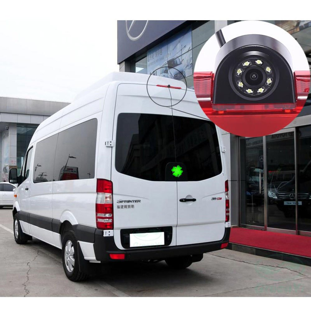 """7/""""screen+Car rear view camera backup for VW crafter T5 Mercedes sprinter nissan"""