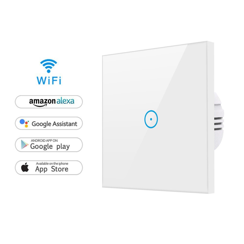 Alexa Lichtschalter, WLAN Smart Lichtschalter SmartPhone ...
