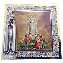 StealStreet SS-WJH-E24-285 Ave Regina Caelorum, Clear Holy Cards