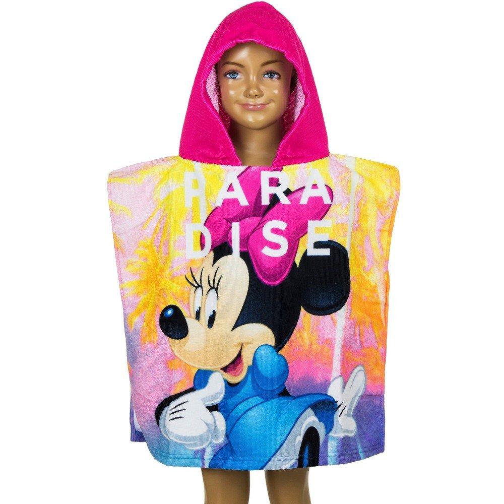 GUIZMAX Poncho de Bain Disney Minnie Mouse, Cape pour Enfant Fonce
