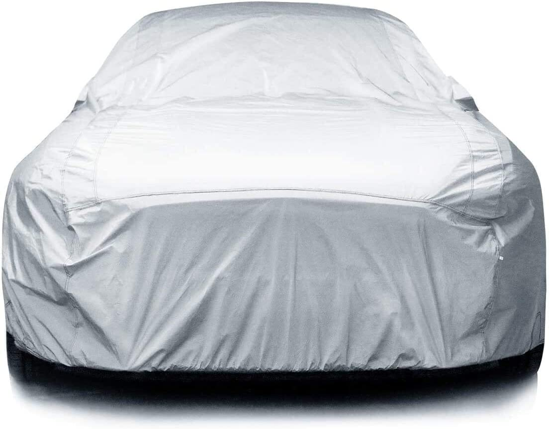 4 Layer Car Cover Soft Breathable Dust Proof Sun Uv Water Indoor Outdoor 4029