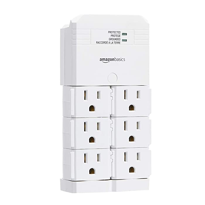 The Best Wall Mount Surge Protector Amazonbasics