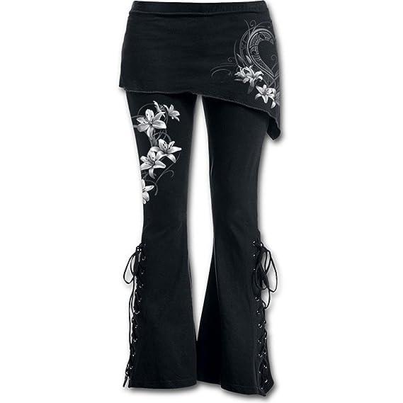 Woopower - Legging - Femme blanc fleur S  Amazon.fr  Vêtements et  accessoires 843489fd638