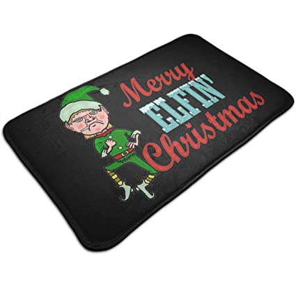Amazon.com : Merry Elfin Christmas Elf Humor Comfortable ...