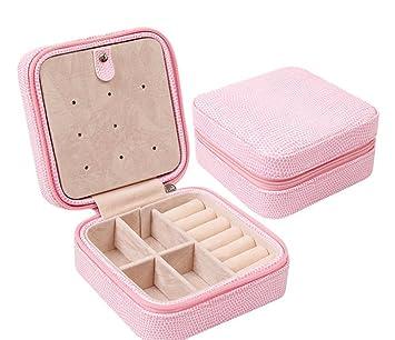 f74d3b6da37d Organizador de joyas caja joyero de piel sintética