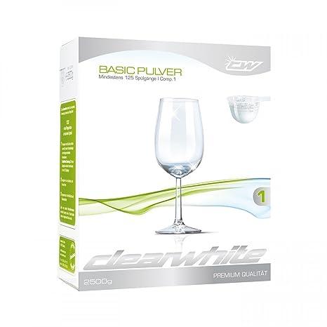clearwhite Basic polvo en caja de cartón: Amazon.es: Hogar