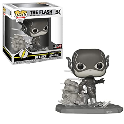 Funko Pop! DC Jim Lee The Flash Black and White Exclusive Vinyl Figure: Toys & Games