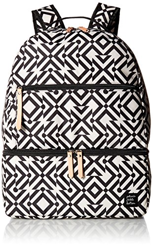 Petunia Pickle Bottom Axis Mazes of Milano Backpack, Black