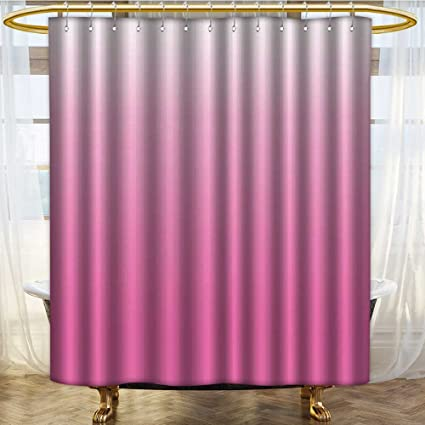 NALAHOMEQQ Ombre Shower Curtain By Dream Love Dreamy Inspired Girly Color Modern Design Digital Art Print
