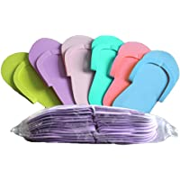 Rosenice -Chanclas desechables de espuma de colores, 36 unidades