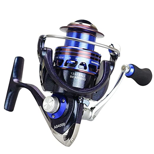 Carretes Spinning Spinning Fishing Reel Bait Runner Reel 13 + 1 ...