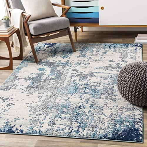 """Artistic Weavers Arti Area Rug, 7'10"""" x 10'3"""", Blue"""