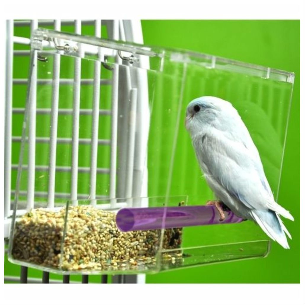 Tweeky Clean tidy Bird Feeder parrot toy toys canary cockatiel finch seed mess by Unbranded*