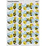 Trend Enterprises Buzzing Bumblebees Sparkle Stickers (72 Piece), Multi