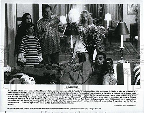 Vintage Photos Press Photo Sinbad Actor Kim Murphy Chauncey Leopardi Phil Hartman Houseguest