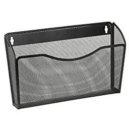 OfficeMax Mesh Wall Letter File, Parent (Black)