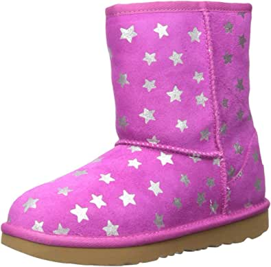 UGG Kids' Classic Short II Stars Boot